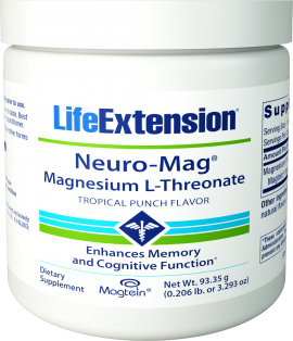 Neuro-Mag® Magnesium L-Threonate (Tropical Punch)
