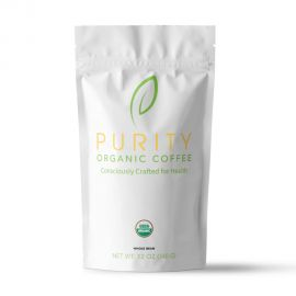 Purity Organic Coffee - Whole Bean Coffee (12 oz)
