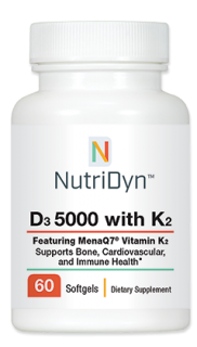 D3 5000 with K2 - 60 Softgels